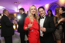 Megan Taylor and Tom Mansell from Ahead Partnership at the CIPR PRide Awards 2015